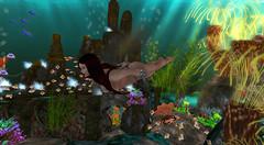 Under The Sea (G. Inc.) Tags: secondlife virtualworld sl sea undewater metaverse 3d rendering lindenlab femaleavatar