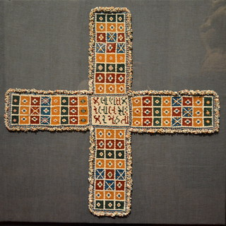Philadelphia, PA - Philadelphia Museum of Art - Chaupar Game Board - India (Gujarat), c 1920-60 (1)