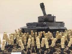 Kursk Teaser (Frosty Bricks) Tags: ww2 lego tank field