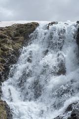 Neige fondante (RIch-ART In PIXELS) Tags: france laruns waterfall water neige snow ice glace landscape hautespyrénées pyrénées nouvelleaquitaine fujifilmxt20 xt20 cloud rock paysage
