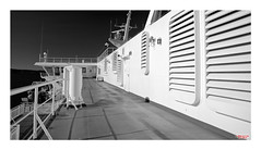 Victoria and Beyond (MBates Foto) Tags: availablelight blackandwhite canada daylight deck existinglight ferries monochrome nikkorlens nikond810 nikonfx outdoors ship water victoria britishcolumbia