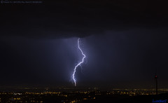 2018.06.21 - 004320 (NIKON D7200) [Carvalha] (Nuno F. C. Batista) Tags: clouds nuvens portugal lusoskies lightning relâmpago thunderstorm trovoada storm night sky nikon severeweather storms photography margemsul skies portuguese meteorology cumulunimbus d7200 arrudadosvinhos carvalha