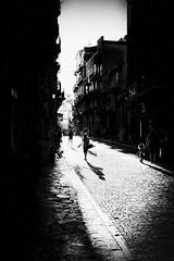 Agrigento Street -  Via Atenea (Angelo Petrozza) Tags: atenea agrigento streetphotography blackandwhite biancoenero bw light luce shadow ombra hd35mmmacrolimited angelopetrozza