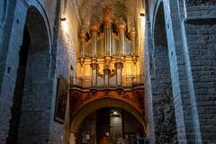 Orgue monumental (sidcamelot) Tags: architecture fabrique urbain saintguilhemledésert occitanie france fr orgue