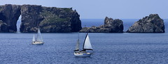 Pylos-Navarino Bay (ᙢᗩᖇᓰᗩ ☼ Xᕮᘉ〇Ụ) Tags: traveling greece griechenland meer sea water boats navarino pylos