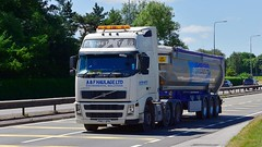 PN57 OPX (Martin's Online Photography) Tags: volvo truck wagon lorry vehicle freight haulage commercial transport a580 leigh lancashire nikon nikond7200 fh02