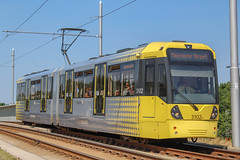 Manchester Metrolink 3102 *In Explore* (Mike McNiven) Tags: manchester metrolink tram lrv metro lightrail wythenshawe victoria airport