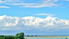 Home on baltic sea coast (farmspeedracer) Tags: nature sky sea blue cloud germany june juni 2017 summer house highway view