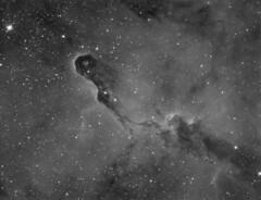 The Elephant Trunk Nebula (Photonen-Sammler) Tags: elephant trunk nebula ic 1396 halpha narrowband imaging astrophotography astronomy night sky