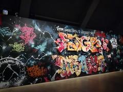 Graffiti exhibition (Thomas_Chrome) Tags: ham helsinki art museum blade egs trama risk exhibition graffiti streetart street spray can wall walls gallery suomi finland europe nordic legal