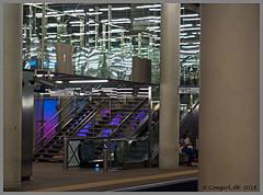 Rotterdam (cowgirl_dk) Tags: holland thenetherlands nederlands rotterdam wilhelminakade wilhelminastreet nederlandsfotomuseum building bygning arkitektur architecture erasmusbrug erasmusbridge erasmusbroen metrostation urbannature