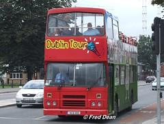 Dualway (90D1055). (Fred Dean Jnr) Tags: dublin september2006 dualway leyland olympian alexander r rh 90d1055 stjohnsroadwestdublin exdublinbus rh55