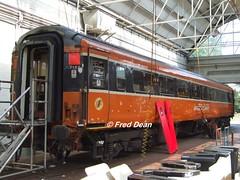"Irish Rail ""7168"" at Inchicore. (Fred Dean Jnr) Tags: irishrail iarnrodeireann dublin september2006 inchicorerailwayworks inchicore mk3 openfirst 7168 markiii"