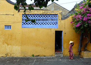 In the historic town of Hoi An, Vietnam