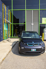 RRC_Sustainability_July 2018-046 (RedRiverCollege) Tags: rrc redrivercollege notredamecampus ndc sustainability electriccar compost bike