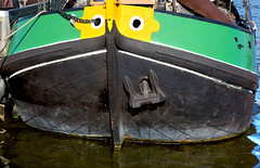 Black Green and Yellow_3604 (hkoons) Tags: northsea westerneurope fishingboats saltwater squarerigger amsterdam atlantic capital city europe european harbor holland netherlands people anchor antique boat boats bow canals coast coastal conveyance dock dockside dykes fishing jetty marine ocean old public rigging sails sea ship tidal transportation vessel water waterways wood
