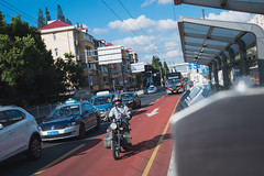 Shanghai Street Shooting (Kuma Pictures) Tags: shanghai street urban 71 bus transport motobike nikon d810 70200
