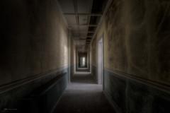 corridor (explore) (Blacklight Fotografie) Tags: corridor korridor flur tür türen corridoio abandoned decay forgotten verlassen verfallen lostplace lost urbex hdr lichtstimmung blacklight fotografie