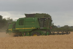 John Deere T560 Hill Master Combine Harvester cutting Winter Barley (Shane Casey CK25) Tags: john deere t560 hill master combine harvester cutting winter barley castletownroche jd green grain harvest grain2018 grain18 harvest2018 harvest18 corn2018 corn crop tillage crops cereal cereals golden straw dust chaff county cork ireland irish farm farmer farming agri agriculture contractor field ground soil earth work working horse power horsepower hp pull pulling cut knife blade blades machine machinery collect collecting mähdrescher cosechadora moissonneusebatteuse kombajny zbożowe kombajn maaidorser mietitrebbia nikon d7200