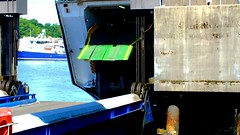 Scotland West Highlands Argyll car ferry Clansman unloading cars at Oban ferry terminal video 7 July 2018 by Anne MacKay (Anne MacKay images of interest & wonder) Tags: scotland west highlands argyll car ferry clansman cars oban pier terminal 7 july 2018 video by anne mackay caledonian macbrayne calmac