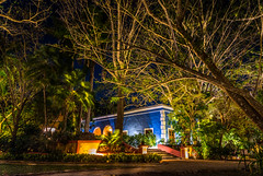 The hidden hacienda. (catrall) Tags: mexico yucatan hacienda night holiday vacation nikon d750 fx sigma sigmalens 24105 march 2018 accommodation wood forest garden realestate hotel