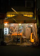 // never too late (pnwbot) Tags: 東京 日本 tokyo japan light warm lantern izakaya couple drinks dinner date