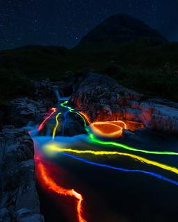 Glencoe Glow Stick Fun!