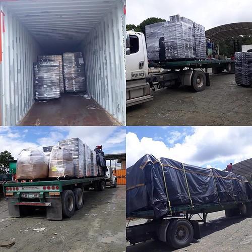 Envíos en contenedores 2018