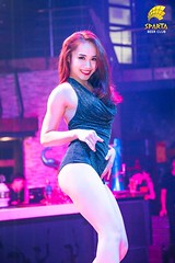 Dancer of Sparta Beer Club (spartabeerclub) Tags: tranganh dancer beer club sparta spartabeerclub hanoi vietnam sexy beautiful girl hot moments feeling lady onstage performance bar
