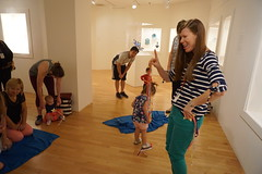 Art Babies, 2018.8 (Center for Creative Connections) Tags: dallasmuseumofart dma art babies play pretend stories dancing music stars keir islamic gallery fun early learning