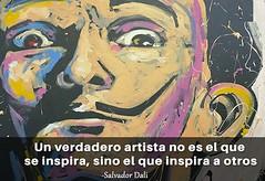Salvador Dalí (pryflores) Tags: artistas frases