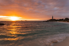 Fire Sky (Jared Beaney) Tags: canon6d canon australia australian travel photography photographer rottnest westernaustralia rotto island islands pinkysbeach lighthouse sunrise ocean bay cove clouds landscapes landscape