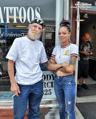Aug 3 2018 - Age, youth and tattoos in Sturgis (La_Z_Photog) Tags: lazy photog elliott photography worland wyoming sturgis motorcycle rally black hills south dakota cam bull helmet horse hair