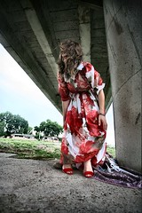 under the bridge (vetlife2005) Tags: woman outdoor portrait creative people cute beautiful beauty beautifulwoman