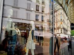 Les Halles (bingley0522) Tags: olympuspenf mzuiko17mmf18 paris france leshalles reflection parisheatwave urbanlandscape