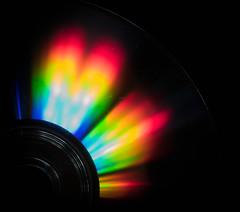 Multicoloured media (wwwwg) Tags: macromondays multicolour cd