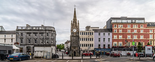 THE FOUNTAIN CLOCK ON WATERFORD QUAYS [ABOUT 150 YEARS OLD]-142724