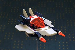 Galaxy Viper - Neo Ice Planet (Mathijs Dubbeldam) Tags: space scifi aerospacejet fighter iceplanet lego legoideas