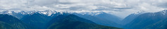 Hurricane Pano (tourtrophy) Tags: hurricaneridge olympicnationalpark mountains olympicpeninsula washington sonya7rii canonef70200mmf28lisiiusm