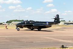 Gloster Meteor T.7 WA638 (Steve Tron) Tags: riat 2018 royalinternationalairtattoo raf coldwar jets gloster meteor t7 wa638