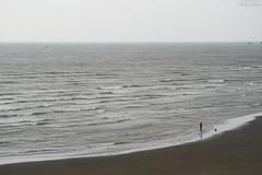 新竹・海天一線 ∣ Hsinchu・Taiwan (Iyhon Chiu) Tags: 新竹 台灣 海岸線 海天一線 hsinchu taiwan 沙灘 海岸 海 beach sea 消波塊