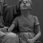 11 - Musée Camille Claudel - Alfred Boucher, Monument du docteur Panas, Avant 1905, Modèle en plâtre avec marques de mise aux points - Détail thumbnail