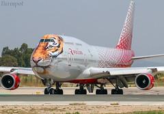 EI-XLD Boeing 747 Rossiya (@Eurospot) Tags: eixld boeing 747 747400 rossiya barcelone lebl sdm bcn