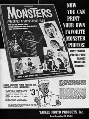 Famous Monsters Photo Printing Set, 1965 ad (gameraboy) Tags: vintage ad ads advertising advertisement vintagead vintageads famousmonsters 1965 1960s