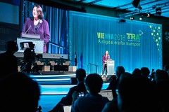 The Transport Research Arena Vienna 2018 (yannick.renuart) Tags: lecturing conference conférence lecture meeting discussion discovering presentation présentation european commission dg transport technology vienna vienne event événement europe europa