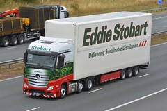 GN18 VPD (panmanstan) Tags: stobart mercedes actros mp4 wagon truck lorry commercial freight transport haulage vehicle a1m fairburn yorkshire
