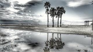 Después de la tormenta viene la calma. playas de San Salvador (El Vendrell) - Catalonia - Spain