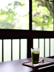 Cold green tea (tsu55) Tags: tea green japan