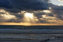Sunset (DirkVandeVelde back , and catching up) Tags: europa europ europe frankrijk france bercksurmer côtedopale nordpasdecalais sony sea strand beach plage mer meer zonsondergang wolken lucht clouds