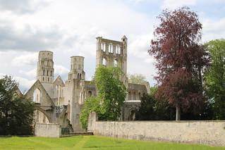 Abbaye de Jumièges (Seine-maritime. Normandie)